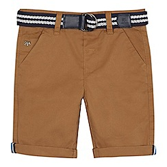J by Jasper Conran - Boys' tan chino shorts