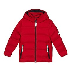J by Jasper Conran - Boys' red padded shower resistant parka