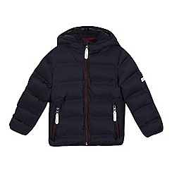 J by Jasper Conran - Boys' navy padded shower resistant parka