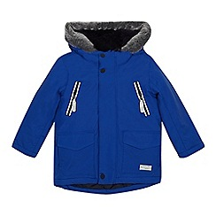 J by Jasper Conran - Boys' blue waterproof 3-in-1 jacket