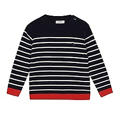 J by Jasper Conran - Boys' navy striped jumper