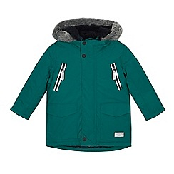 J by Jasper Conran - Boys' green 3-in-1 padded jacket