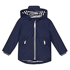J by Jasper Conran - 'Boys' navy rain jacket