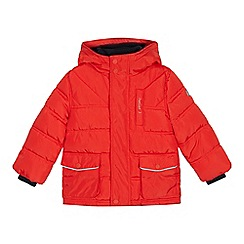 J by Jasper Conran - Boys' Red Padded Shower Resistant Jacket