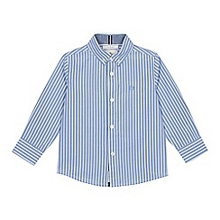 J by Jasper Conran - Boys' pale blue striped print shirt