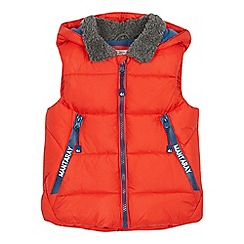 Mantaray - Boys' red padded gilet