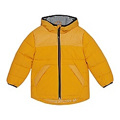 Mantaray - Boys' yellow padded shower resistant reflective jacket