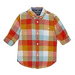 Mantaray - Boys' multicoloured checked shirt