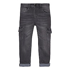 Mantaray - Boys' grey slim fit jeans