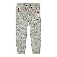 Mantaray - Boys' grey knit jogging bottoms