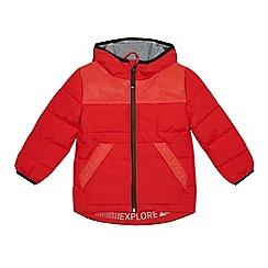 Mantaray - Boy's orange paddedreflective shower resistantjacket