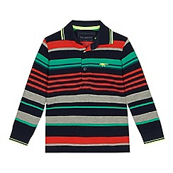 ee04fa29b245 bluezoo - Boys  multicoloured striped polo shirt