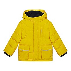 f79ff80570075 J by Jasper Conran - Boys  mustard padded shower resistant jacket