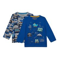 5418b24cac4a bluezoo - 2 Pack Boys  Assorted City T-Shirts