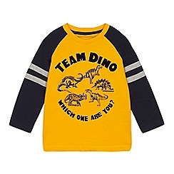 4bfa2a63f683 bluezoo - Boys  Orange  Team Dino  Print Top