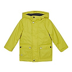 Mantaray - Boys' Lime Cotton Parka Coat