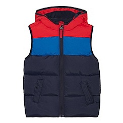 bluezoo - Boys' Multicoloured Colour Block Gilet