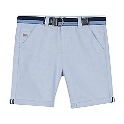 J by Jasper Conran - Boys' Light Blue Oxford Shorts