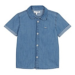 bluezoo - Boys' Blue Chambray Short Sleeve Shirt