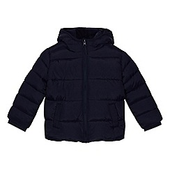 bluezoo - Boys' navy shower resistant padded jacket