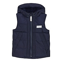 J by Jasper Conran - Boys' navy borg lined gilet