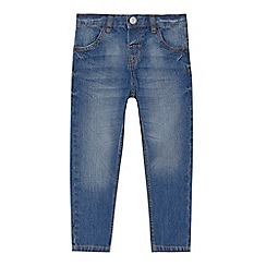 bluezoo - 'Boys' blue light wash slim leg jeans