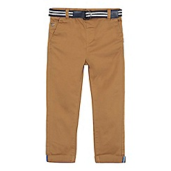 J by Jasper Conran - Boys' tan slim fit chino trousers