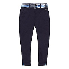 J by Jasper Conran - 'Boys' navy slim fit chino trousers