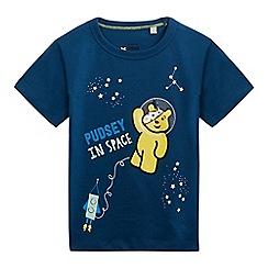 BBC Children In Need - Boys' navy 'Children in Need' print t-shirt