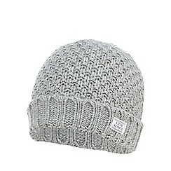 bluezoo - Boys' grey beanie hat