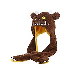 The Gruffalo - Childrens' brown 'Gruffalo' hat scarf
