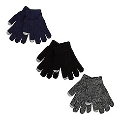 bluezoo - Pack of three children's assorted magic gloves