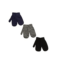 bluezoo - Pack of three children's mittens