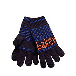Baker by Ted Baker - Boys' multi-coloured knitted gloves