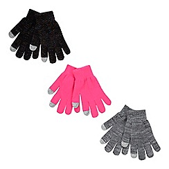 bluezoo - 3 pack children's assorted magic gloves