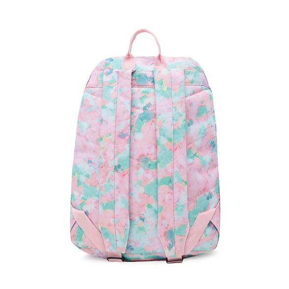 Hype logo Multicoloured print sponge embroidered backpack qFqgHOUn