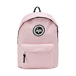 Hype - Pink embroidered logo backpack