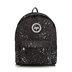 Hype - Black Speckle Print Backpack