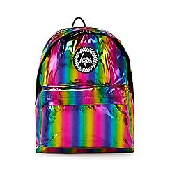 Hype - Multicoloured Rainbow Holographic Backpack