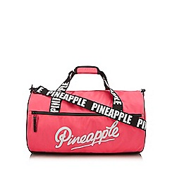 Pineapple - Girls' pink barrel bag