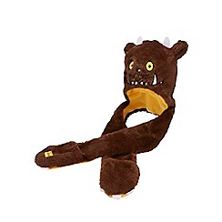 The Gruffalo - Boys' brown 'Gruffalo' hat scarf