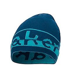 Baker by Ted Baker - Kids' blue logo print beanie hat
