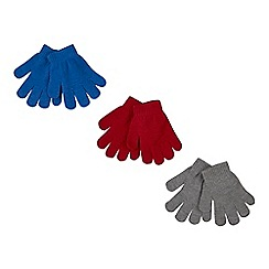 bluezoo - 3 pack toddler's assorted magic gloves