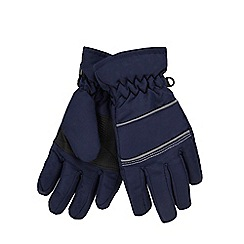 bluezoo - Boys' navy Thinsulate™ gloves