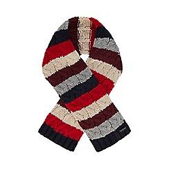 J by Jasper Conran - Boys' multicoloured cable stripe scarf