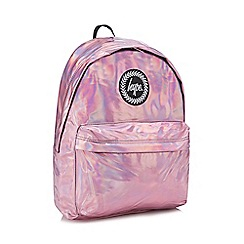 Hype - Pink holographic backpack