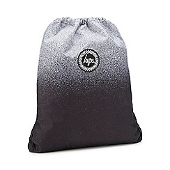 Hype - Black speckled fade print drawstring bag