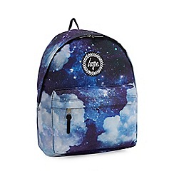 Hype - Multicoloured space print backpack