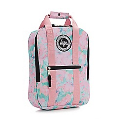 Hype - Kids' multicoloured sponge print backpack