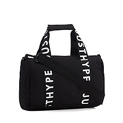 Hype - Kids' black logo straps bowling bag
